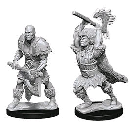 Dungeons & Dragons - Nolzur's Marvelous Unpainted Minis: Male Goliath Barbarian