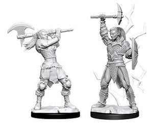 Dungeons & Dragons - Nolzur's Marvelous Unpainted Minis: Female Goliath Barbarian