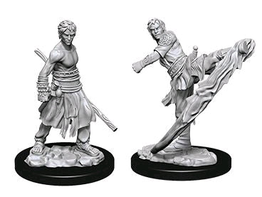Dungeons & Dragons - Nolzur's Marvelous Unpainted Minis: Male Half-Elf Monk
