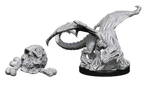 Dungeons & Dragons - Nolzur's Marvelous Unpainted Minis: Black Dragon Wyrmling