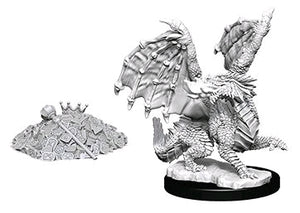 Dungeons & Dragons - Nolzur's Marvelous Unpainted Minis: Red Dragon Wyrmling