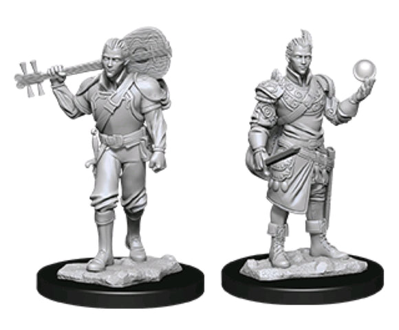 *Pre-order* Dungeons & Dragons - Nolzur's Marvelous Unpainted Minis: Male Half-Elf Bard (ETA August)