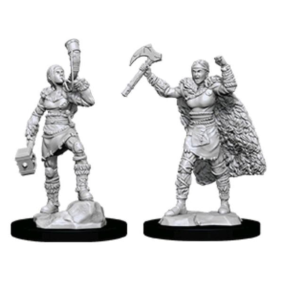 *Pre-order* Dungeons & Dragons - Nolzur's Marvelous Unpainted Minis: Female Human Barbarian (ETA August)