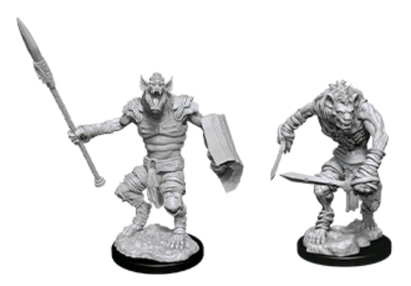 *Pre-order* Dungeons & Dragons - Nolzur's Marvelous Unpainted Minis: Gnoll & Gnoll Flesh Gnawer (ETA August)