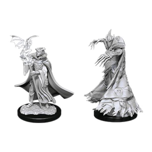 *Pre-order* Pathfinder - Deep Cuts Unpainted Miniatures: Cultist & Devil (ETA August)