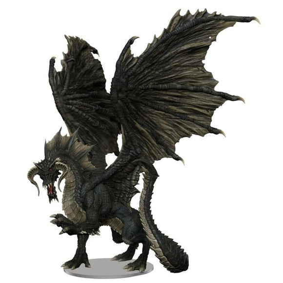 *Pre-order* Dungeons & Dragons - Icons of the Realms Adult Black Dragon Premium Figure (ETA February)