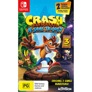 Crash Bandicoot: N-Sane Trilogy SWITCH (Pre-Played)