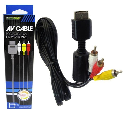 KMD AV Cable - Playstation - (Boxed)