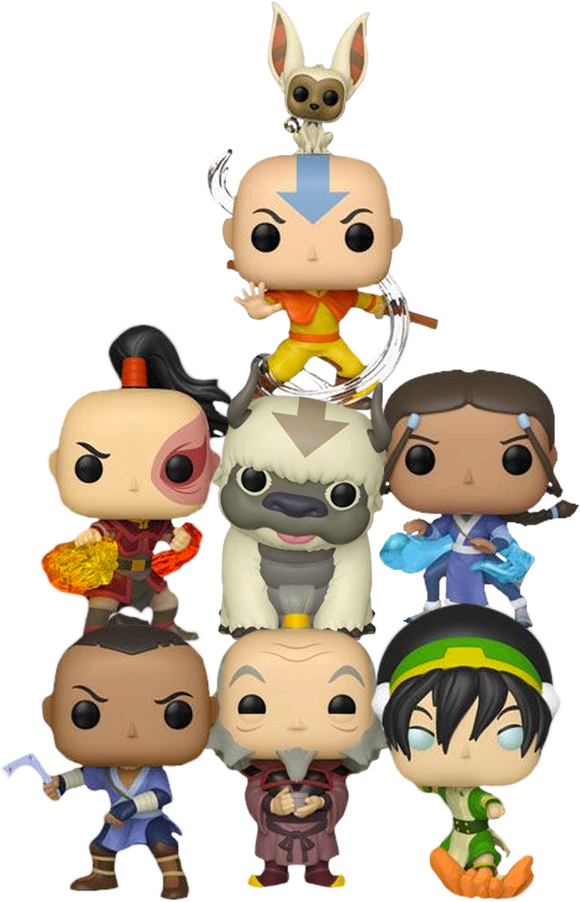 Avatar The Last Airbender - Bundle 7 Pop! Vinyl