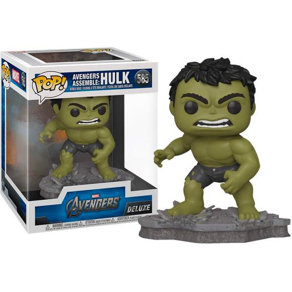 *Pre-order* Avengers 4: Endgame - Hulk Assemble Deluxe Pop! Vinyl (ETA March)