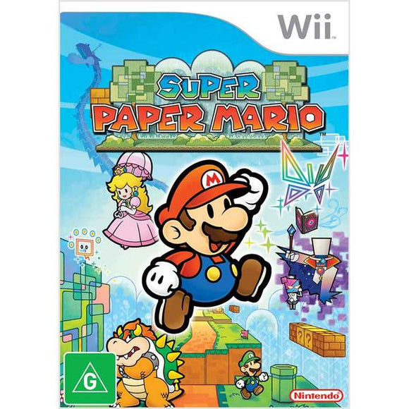 Super Paper Mario Wii (Pre-Played)