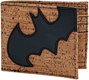 Batman Cork & Applique Bi-fold Wallet