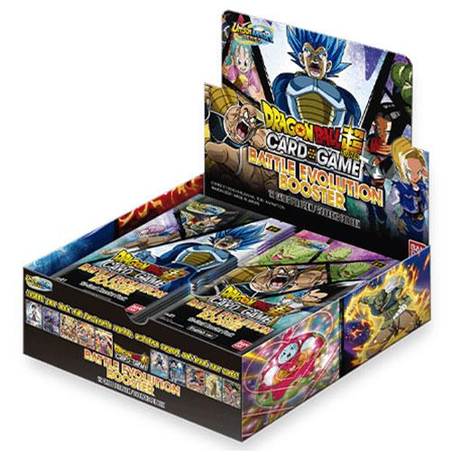 Dragon Ball Super Card Game Unison Warrior Battle Evolution Booster Display