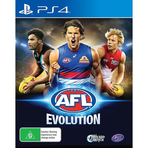 AFL Evolution PS4 (Pre-Played)