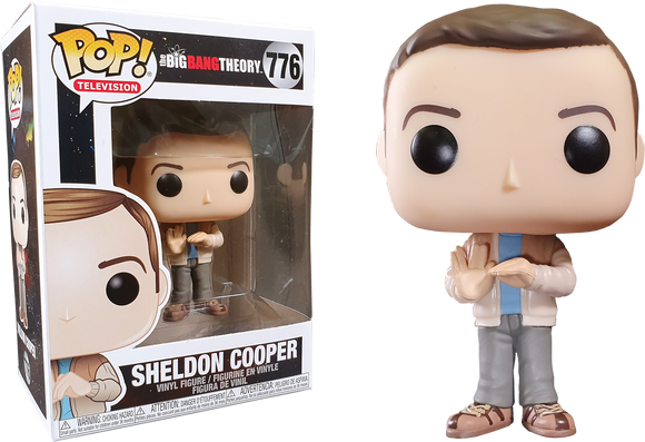 Big Bang Theory - Sheldon Pop! Vinyl