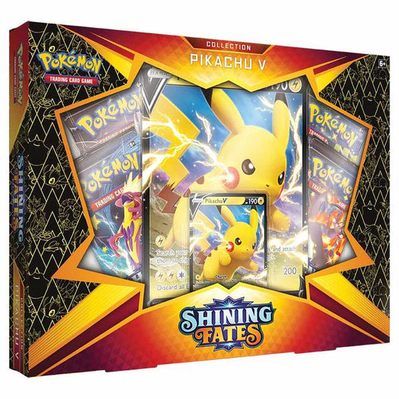 *Pre-order* Pokemon - TCG - Shining Fates Collection - Pikachu V (ETA March)