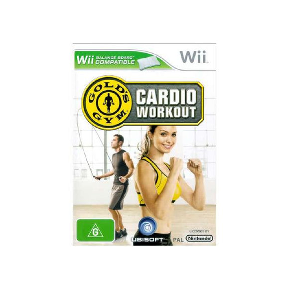 Gold's Gym Cardio Workout Wii (Pre-Played)