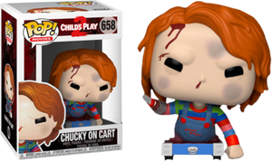 Childs Play - Chucky on Cart Hot Topic Exclusive Pop! Vinyl