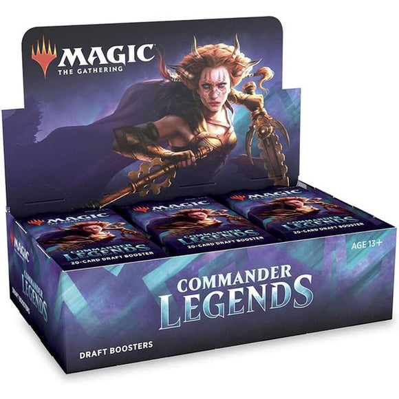 *Pre-order* Magic the Gathering - Commander Legends Draft Booster Box (6th November)
