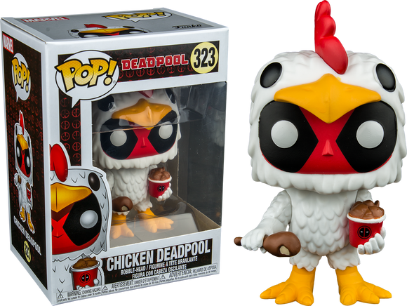 Deadpool - Chicken Deadpool US Exclusive Pop! Vinyl