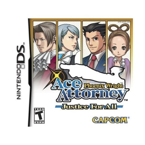 Phoenix Wright Ace Attorney Justice For All DS (Pre-Played)