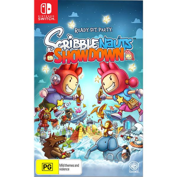 Scribblenauts Showdown SWITCH
