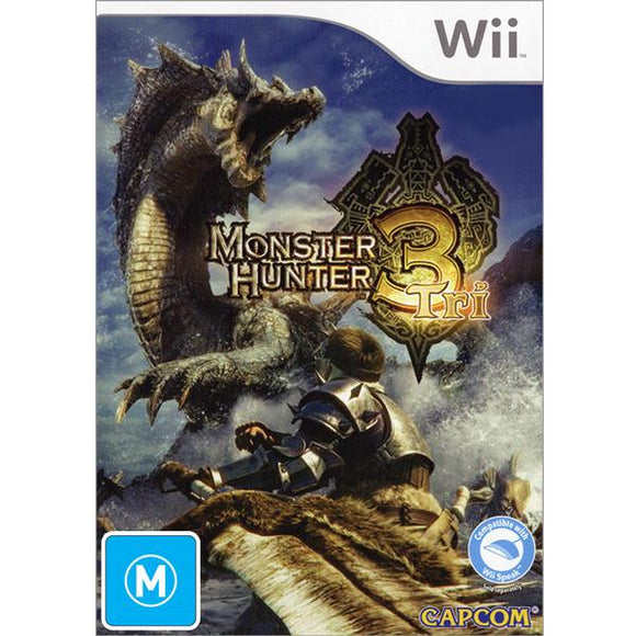 Monster Hunter Tri Wii (Pre-Played)