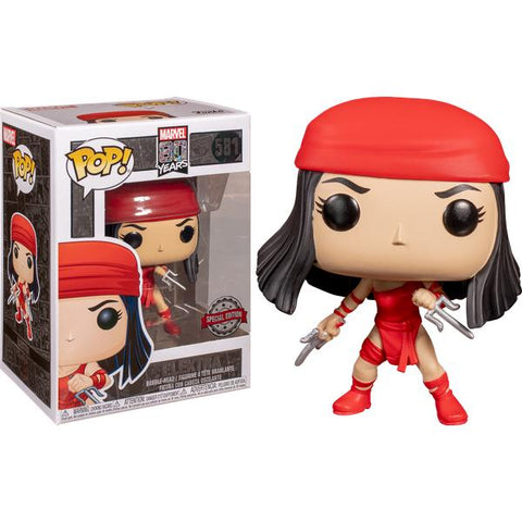 *Pre-order* Daredevil - Elektra 1st Appearance 80th Anniversary US Exclusive Pop! Vinyl (January 31st)