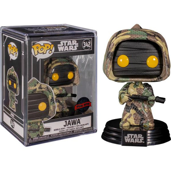 Star Wars - Jawa (Futura) US Exclusive Pop! Vinyl with Protector
