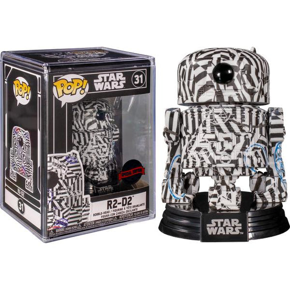 Star Wars - R2-D2 (Futura) US Exclusive Pop! Vinyl with Protector