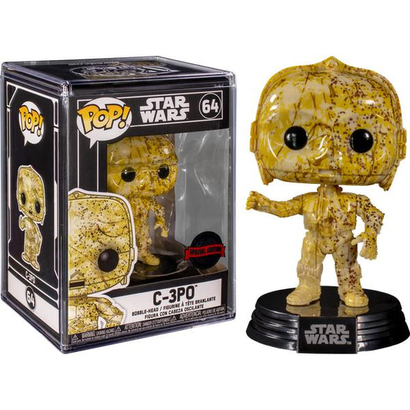 Star Wars - C-3PO (Futura) US Exclusive Pop! Vinyl with Protector