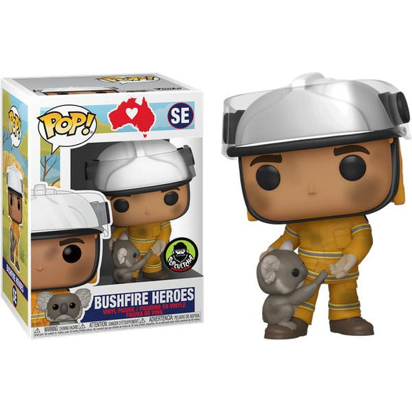 RSPCA National Bushfire Appeal - Bushfire Heroes Firefighter with Koala Pop! Vinyl