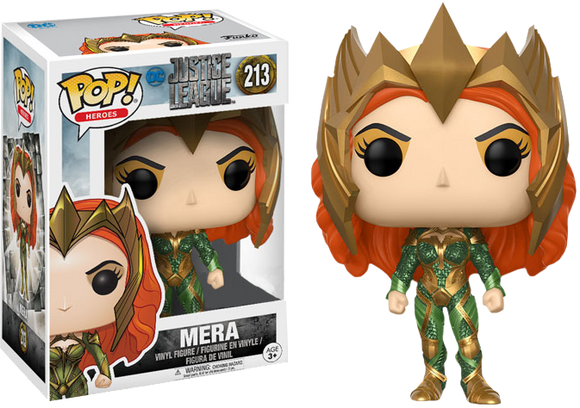 Justice League Movie - Mera US Exclusive Pop! Vinyl