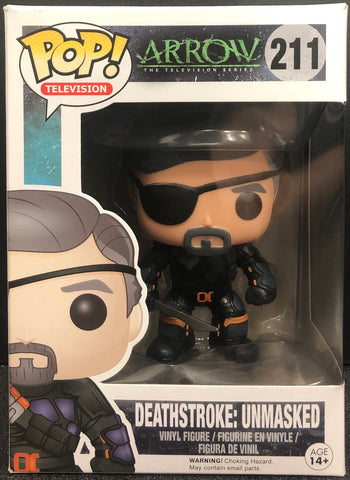 Arrow Deathstroke: Unmasked Pop! Vinyl