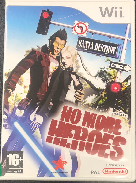 No More Heroes Wii (Pre-Played)