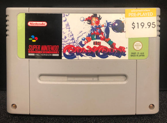 Kid Klown In Crazy Chase SNES Cartridge Only