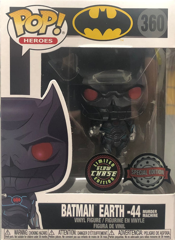 Batman - Earth -44 Metallic US Exclusive Pop! Vinyl CHASE