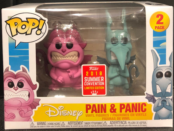 Hercules Pain & Panic 2pk SDCC 2018 US Exclusive Pop! Vinyl