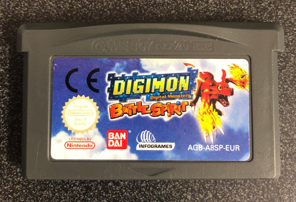 Digimon Battle Spirit Gameboy Advance Cartridge Only