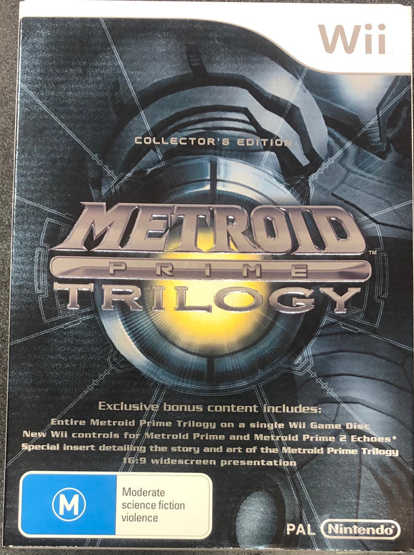 Metroid Prime Trilogy Wii (Pre-Played)