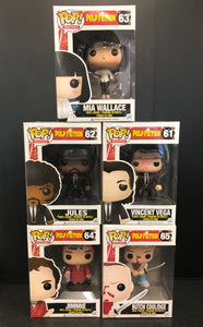 Pulp Fiction 5 Pop Bundle Pop! Vinyl