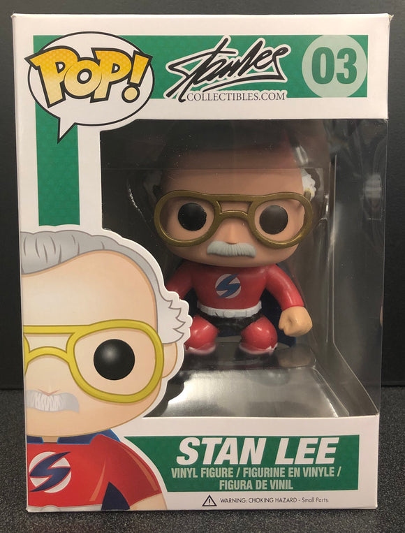 Stan Lee Red Superhero Pop! Vinyl