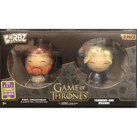 Game Of Thrones - Tormund And Brienne 2017 Summer Convention Exclusive Dorbz
