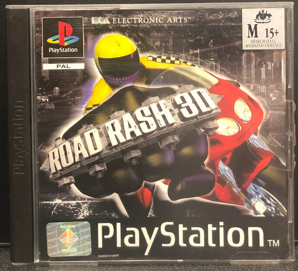 Road Rash 3D PS1