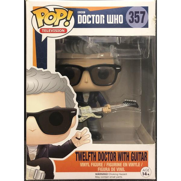 Doctor Who - Twelfth Doctor With Guitar Pop! Vinyl