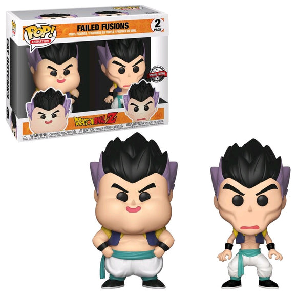 Dragon Ball Z - Failed Fusions US Exclusive Pop! Vinyl