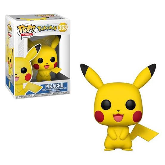 Pokemon - Pikachu Pop! Vinyl Figure