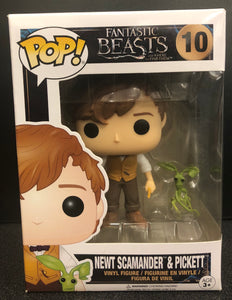 Fantastic Beasts and Where to Find Them - Newt & Pickett US Exclusive Pop! Vinyl