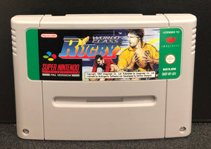 World Class Rugby SNES Cartridge Only