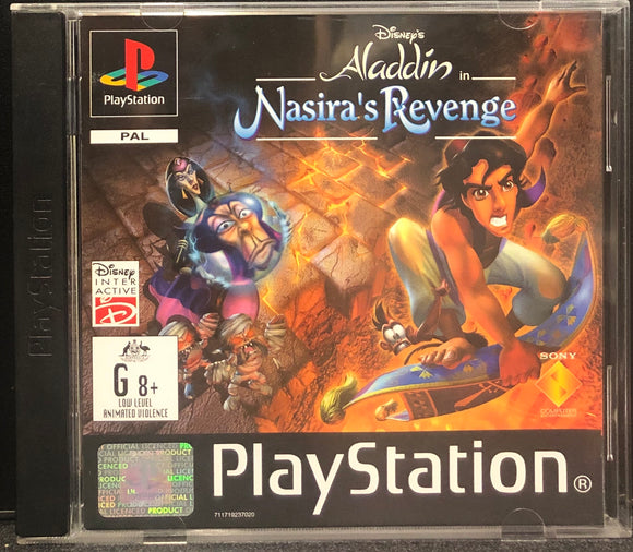 Disney's Aladdin In Nasira's Revenge PS1